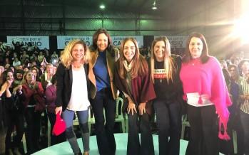 Vidal visitó nuestra ciudad y encabezó un encuentro de mujeres junto a Agustina Ciarletta
