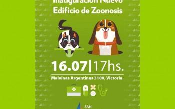 Se inaugura la obra de renovación de Zoonosis