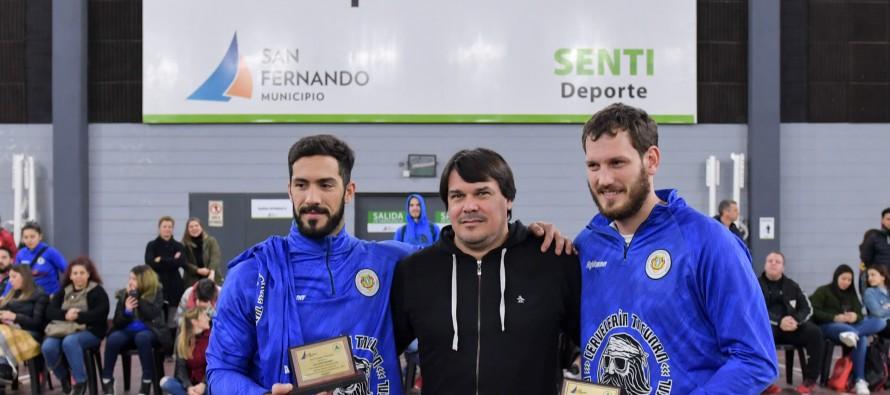 Reconocimiento a los jugadores de handball de nuestra ciudad que ganaron medalla dorada en los Panamericanos