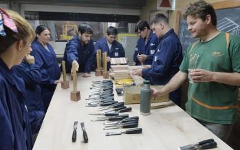 Cursos de carpintería y soldadura en la Escuela Municipal de Oficios