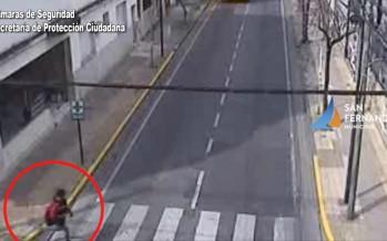 Perón y Alsina: un niño de 11 años fue embestido por un motociclista