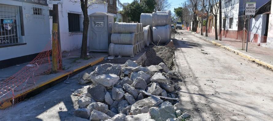 Avanzan las obras hidráulicas sobre Quintana