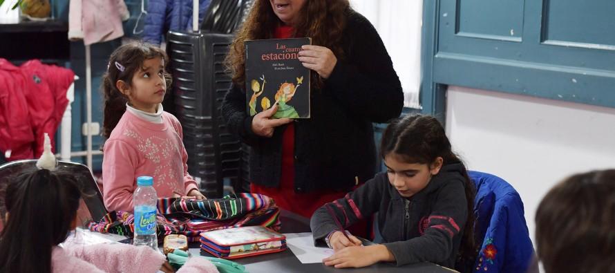 Taller de Arte Infantil en el Centro Cultural 'El Anden'