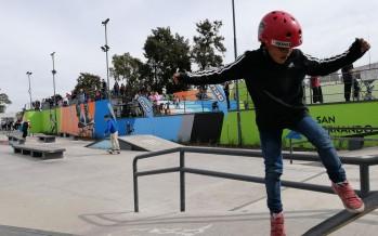 En la Pista de Deportes Extremos se realizó la última fecha de la Liga del Conurbano de Skateboarding