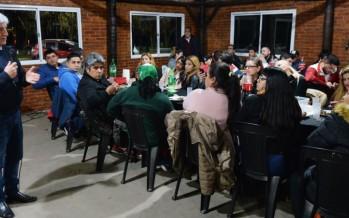 Cena en el Poli 3 en reconocimiento al trabajo social de las murgas