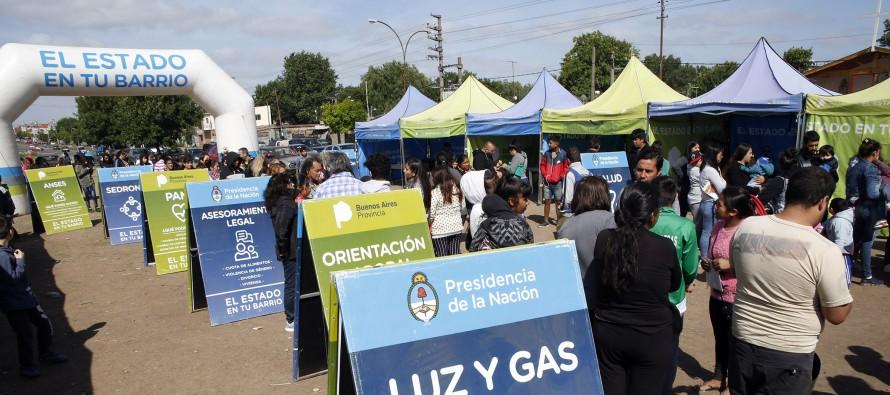"""""""El Estado en Tu Barrio"""" estará hasta el viernes en Avellaneda y colectora de Acceso Norte"""