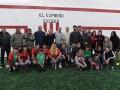 El Club El Expreso estrenó su nueva cancha de fútbol de césped sintético