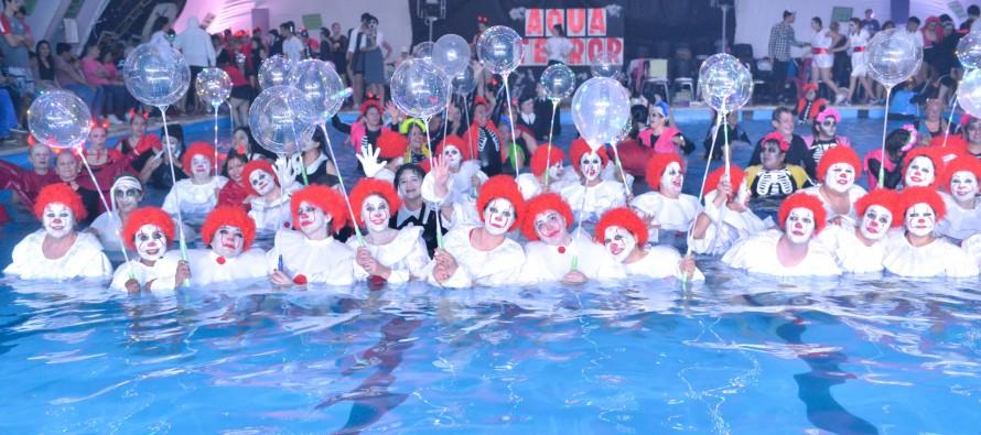 Gala de Aquagym en el Poli N°2