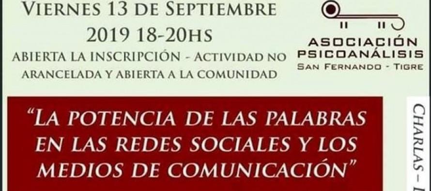 Conferencia sobre redes sociales y medios de comunicación en el Centro Universitario Municipal