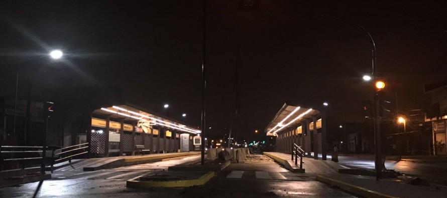 Suspenden desde el lunes por tiempo indeterminado el servicio nocturno de colectivos en el Área Metropolitana