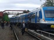 Descarriló una formación del tren Mitre