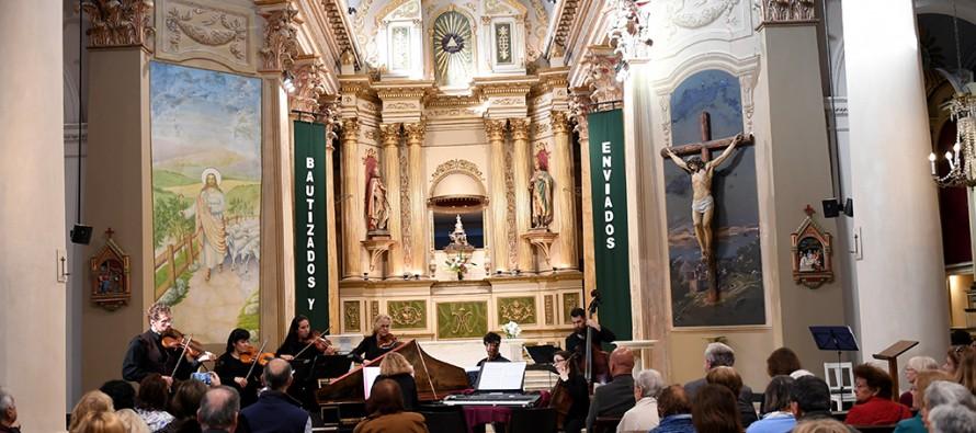 """El """"Concierto Barroco de Dos Mundos"""" se presentó en la Iglesia Nuestra Señora de Aránzazu"""
