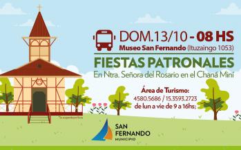 Fiestas Patronales de Nuestra Señora del Rosario en el Chaná Miní
