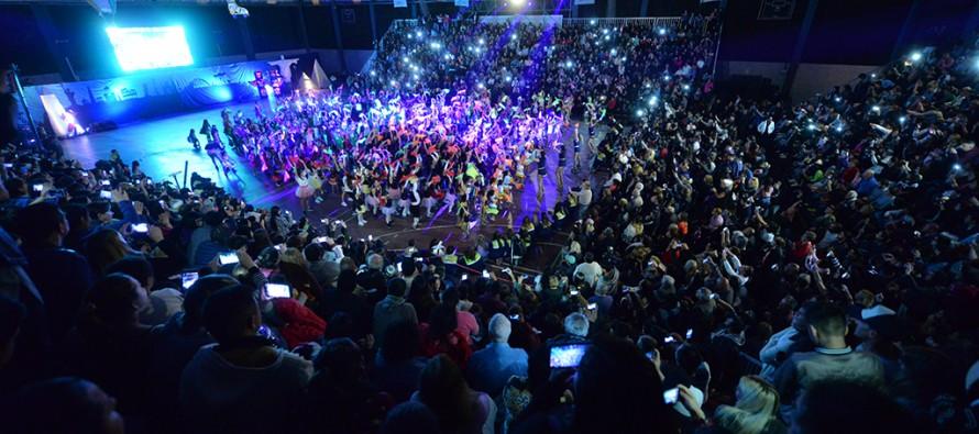 Gala de la Escuela Municipal de Patín en el Polideportivo N° 1