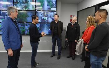 El intendente de Trelew visitó el Centro de Operaciones de nuestra ciudad