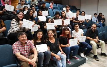 Egresaron del Centro Universitario Municipal 80 participantes de un curso para conseguir el primer empleo