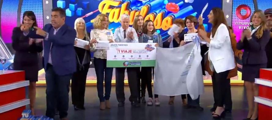 'Entre mate y mate' participó de 'Fabuloso finde' en Canal 9 y ganó un viaje a San Luis