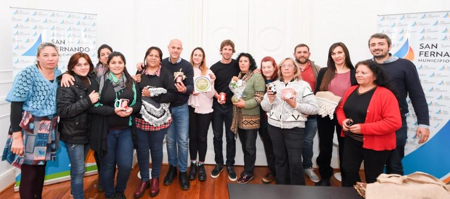 Encuentro con los emprendedores nucleados en 'San Feriando'