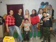 Tiene 8 hijos y abrió un merendero en su casa del barrio San Rafael