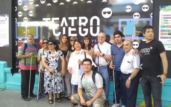 Alumnos del Centro de Día disfrutaron una obra de Teatro Ciego