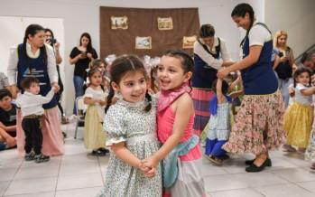 Los jardines maternales municipales festejaron el Día de la Tradición en Don Mariano