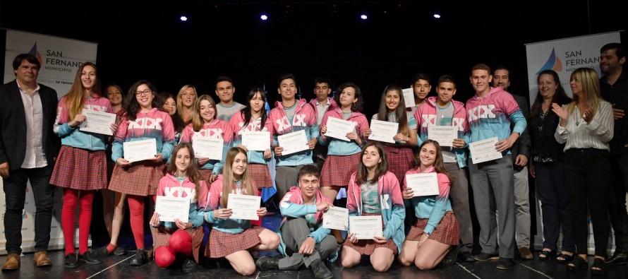Más de 300 alumnos de nuestra ciudad sumaron experiencia laboral con el Programa de Pasantías Educativas