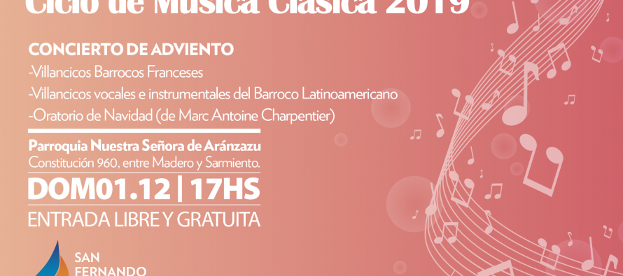 Nueva edición del Ciclo de Música Clásica en la Parroquia Aránzazu