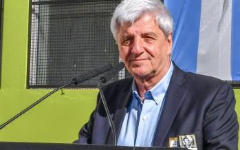 El intendente Andreotti repudió el golpe de Estado en Bolivia