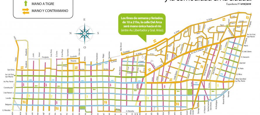 Cambios en calles de Victoria para mejorar la circulación y brindar más seguridad