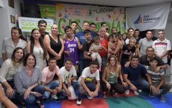 Los chicos del Centro Convivencial Terapéutico realizaron el cierre de fin de año