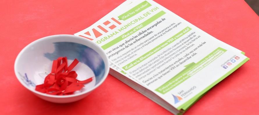 Jornada por el Día Mundial de la Lucha contra el VIH en Plaza Mitre