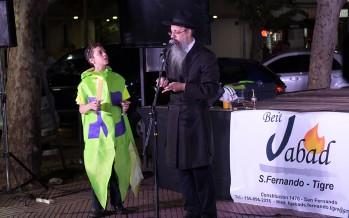 """""""Janucá"""", la tradicional celebración de la comunidad judía se celebró por primera vez en nuestra ciudad"""