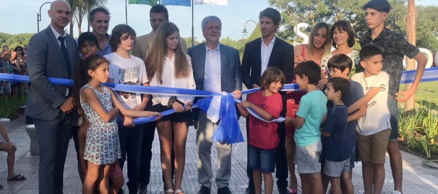 Luis Andreotti inauguró la nueva costanera en su último acto como intendente