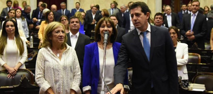 Alicia Aparicio y Sebastián Salvador asumieron como diputados nacionales