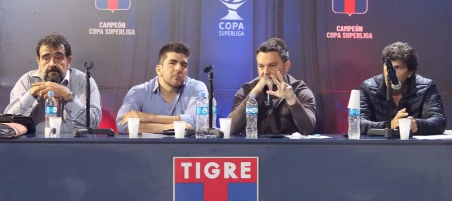 Ezequiel Melaraña fue reelegido como presidente de Tigre