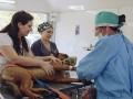 Zoonosis: operativo de castración y vacunación en el Parque del Bicentenario