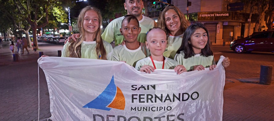El equipo municipal de natación obtuvo su primera medalla a nivel nacional