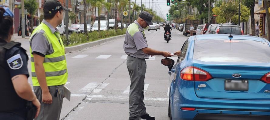 Continúan los operativos de tránsito en nuestra ciudad