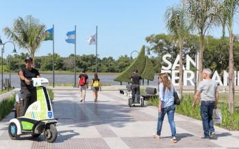 Nuevos móviles de seguridad para la Costanera Pública Municipal