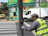 Pintura y mantenimiento en las principales avenidas de nuestra ciudad