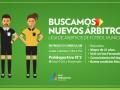 Abierta la convocatoria para formar una Liga de Árbitros de Fútbol Municipal