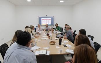 Reunión para articular acciones entre las autoridades del Hospital Municipal y del Provincial