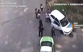 Sarratea y Ambrosoni: identifican un auto con pedido de captura y detienen al conductor