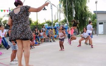 Día de deportes recreativos para la familia en el Poli 9