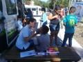 Controles de salud para niños en el barrio San Martín