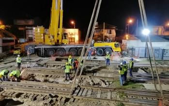 Comenzó la última etapa del túnel de la calle Martín Rodríguez