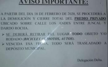 Amarras Hugo del Carril: el Municipio de Tigre intimó a los isleños a desalojar el estacionamiento