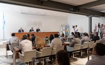 Juan Andreotti inauguró el período de sesiones ordinarias del Concejo Deliberante