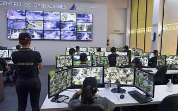 Refuerzan el monitoreo a través de las cámaras de seguridad para el cumplimiento de la cuarentena