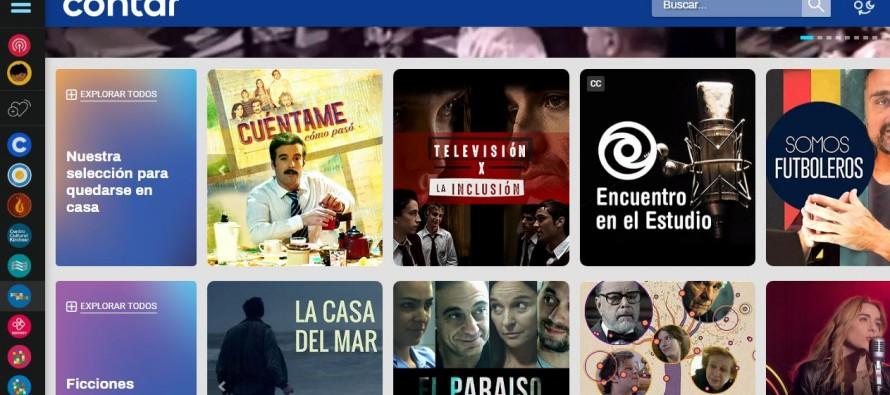 Cont.ar: plataforma para ver series, musicales y programas en forma gratuita para pasar la cuarentena